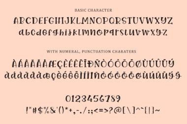 Preveiw01 02 BASTA sweet | Handwritten Font