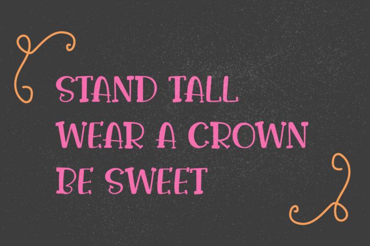 Preveiw01 07 BASTA sweet | Handwritten Font