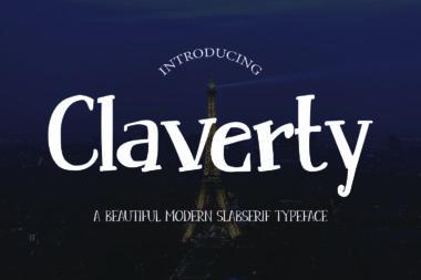 claverty preview 01 Slab Serif