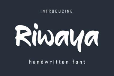 Riwaya Preview 01 Script & Handwritten