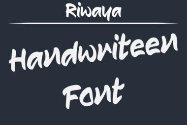 Riwaya Preview 03 Riwaya | A Handwritten Font