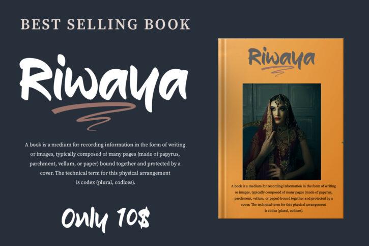 Riwaya Preview 04 Riwaya | A Handwritten Font