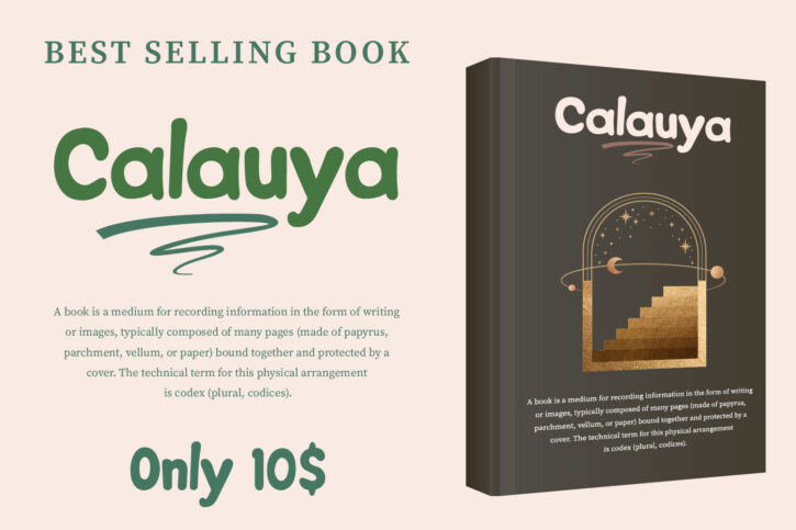 CalauyaPreview 04 Calauya | A Brush Style Font