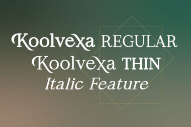 Koolvexa Preview 14 Koolvexa   a modern display serif font