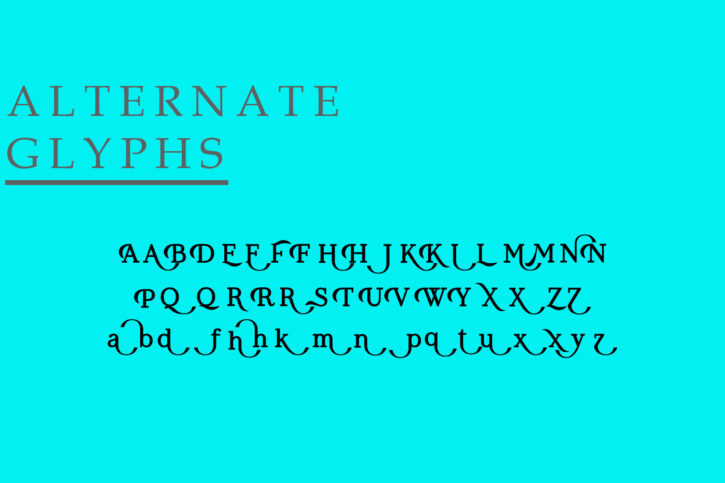Koolvexa Preview 16 Koolvexa   a modern display serif font