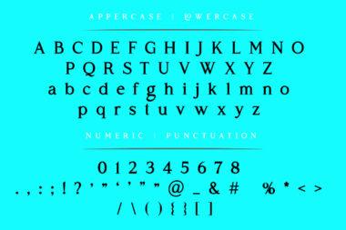 Sofimaria Preview 12 1 Sofimaria   Elegant Modern Serif font