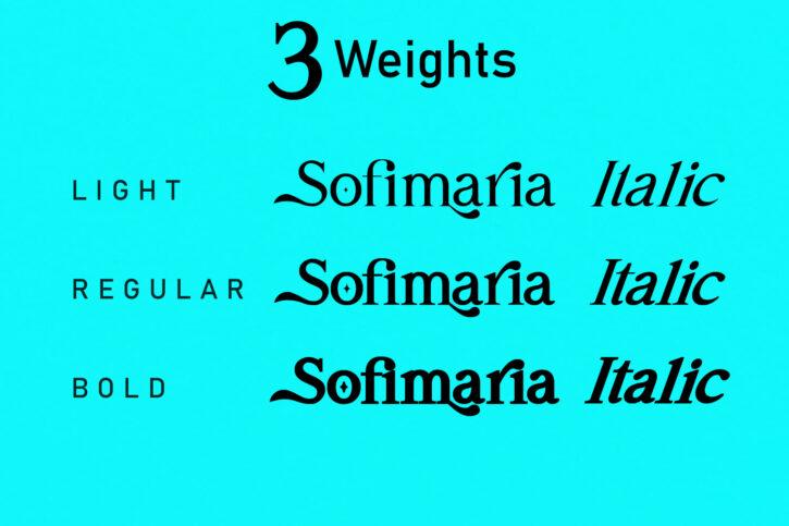 Sofimaria Preview 13 1 Sofimaria   Elegant Modern Serif font